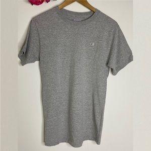 Champion Grey Unisex Vintage-style Tshirt